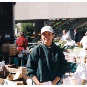 Marlene McKay at Farmer's Market
