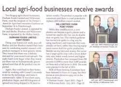 Agri-Food Business Award Article