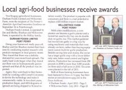 Agri-Food Business Award Article