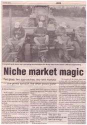 Niche Market Magic article