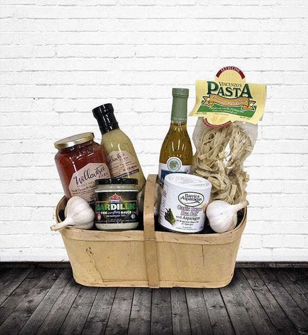 Garlic-y Goodness gift basket