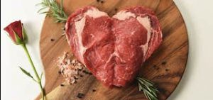 heart steak