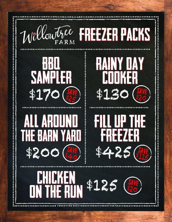 butch shop freezer pricing